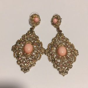H&M Pink earrings